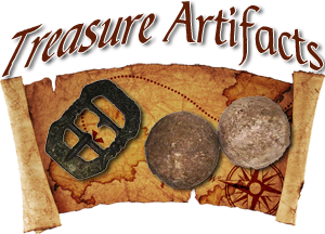 Artifacts from Shipwreck Treasure