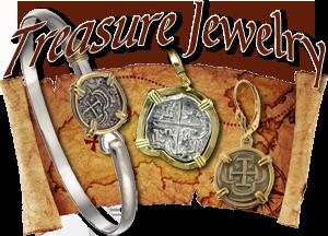 Jewelry from Shipwreck Treasure